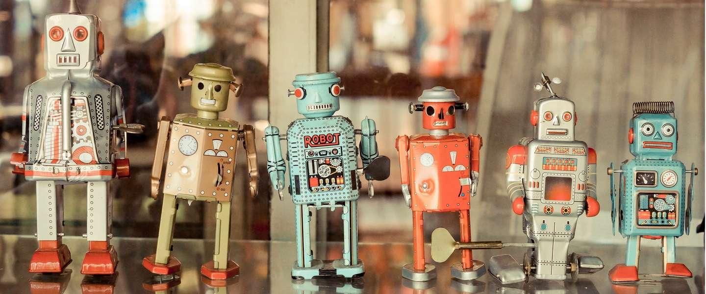 Onderzoekers vinden methode om robots als zwerm te laten werken