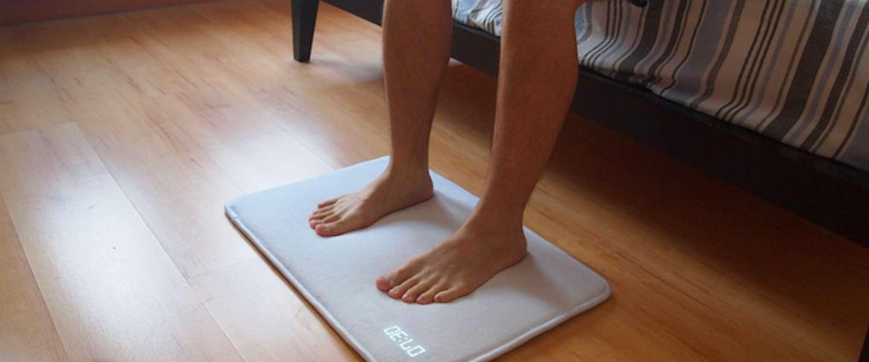 Ruggie: een wekker in de vorm van een mat