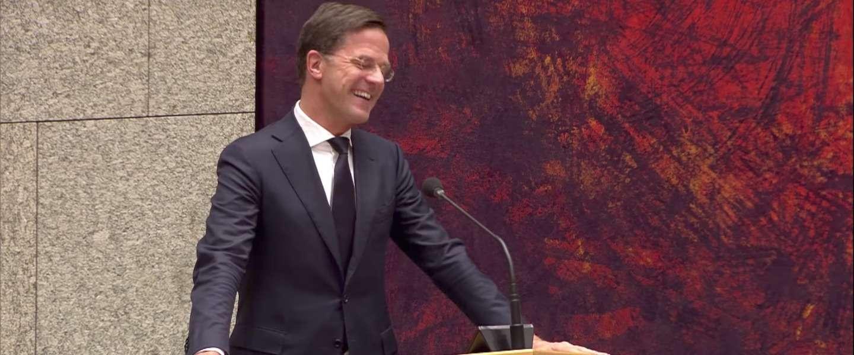 Liefdesleven van Rutte en Wilders gaat viraal