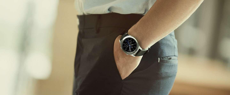 Samsung's Gear S3 is een klassiek horloge en smartwatch in één
