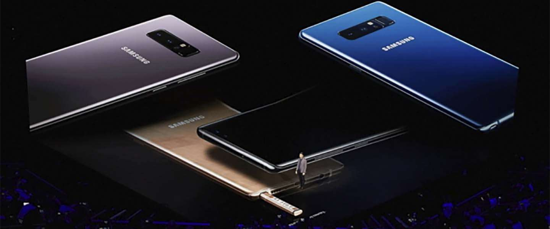 Samsung Galaxy Note8: een overzicht van alle specs [infographic]