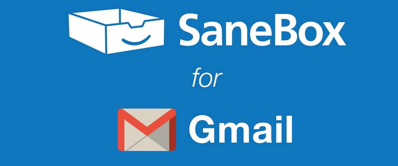 Gmail is killing, Sanebox is m'n redding