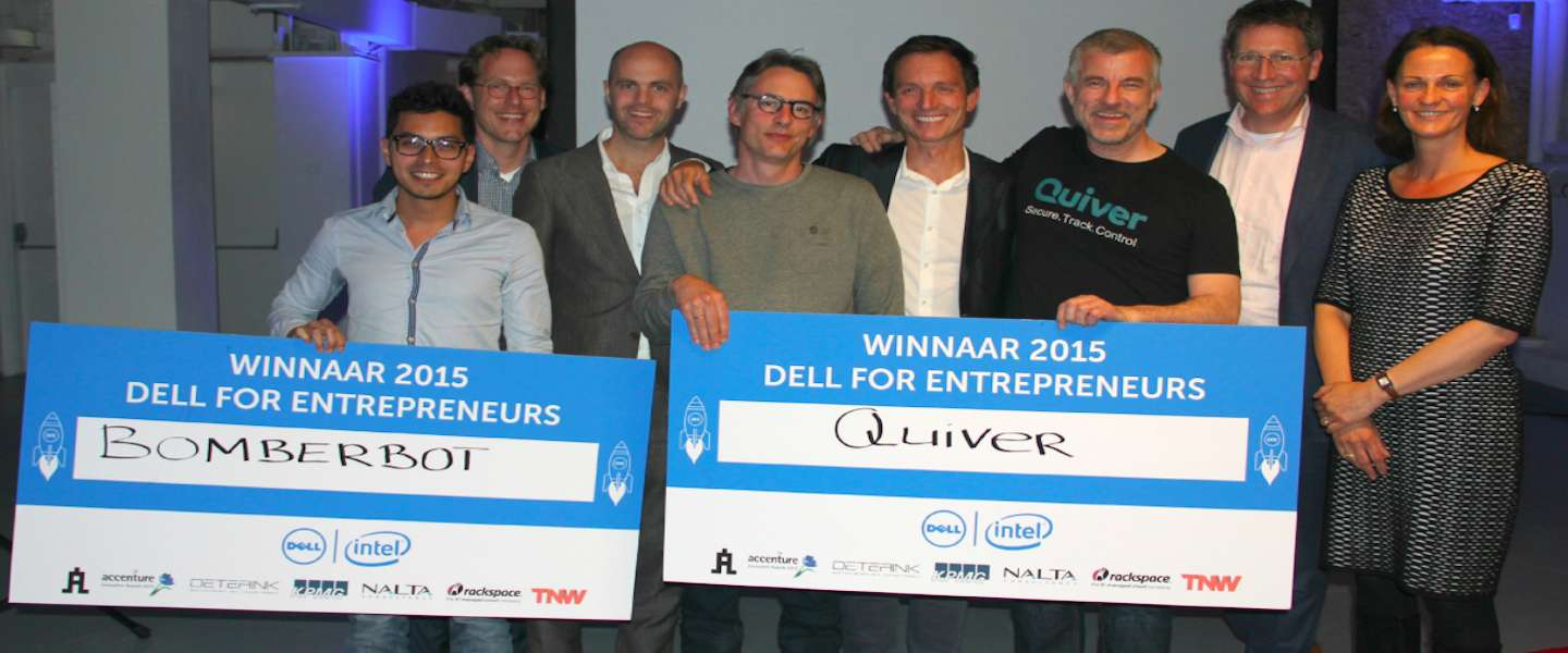 Quiver en Bomberbot winnen Dell for Entrepreneurs-competitie