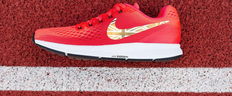 Nike maakt een schoen, speciaal ter ere van Mo Farah