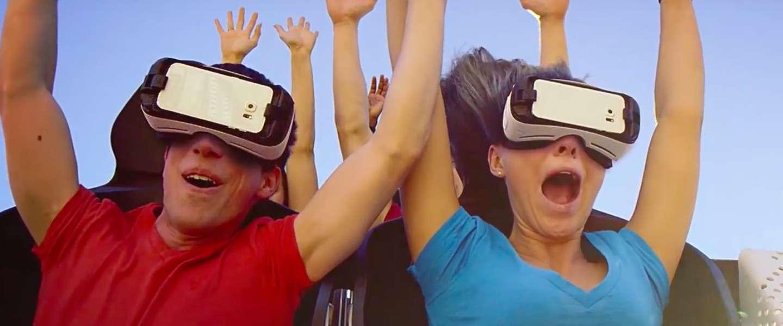 Six Flags introduceert virtual reality-achtbanen!