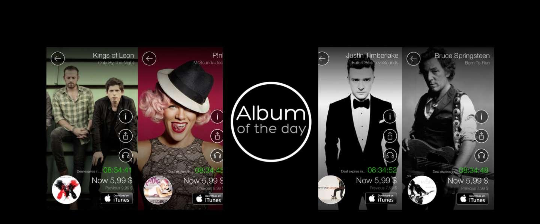 Sony lanceert Album of the Day, muziek kopen met 70% korting