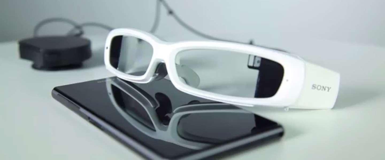 Sony's Smarteyeglass, Google Glass 2.0 maar de vraag blijft, loop je niet een klein beetje voor gek?