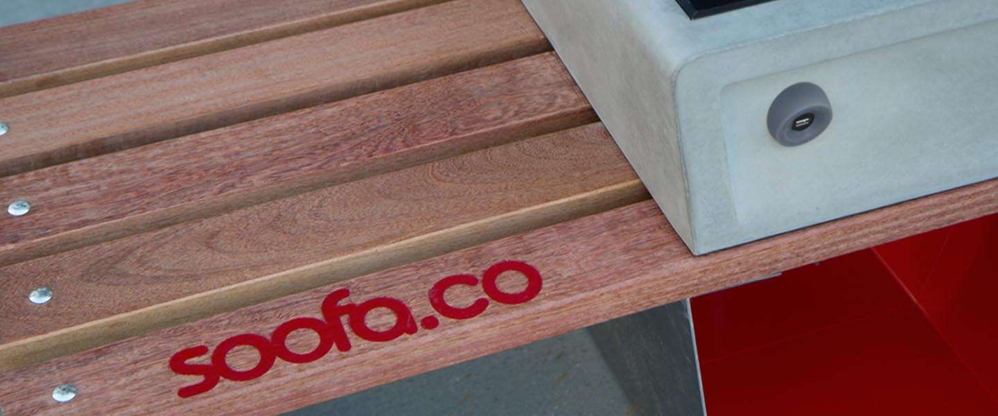 Boston en 'the internet of things': smart benches