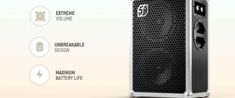 Soundboks bereikt binnen 3 uur doelstelling op Kickstarter