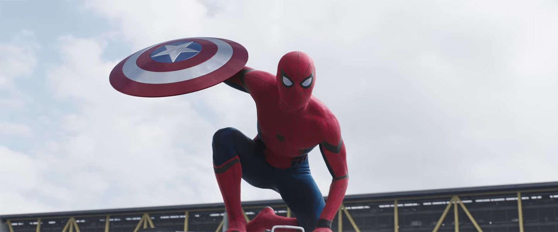 Spider-Man maakt zijn opwachting in nieuwe trailer Captain America : Civil War