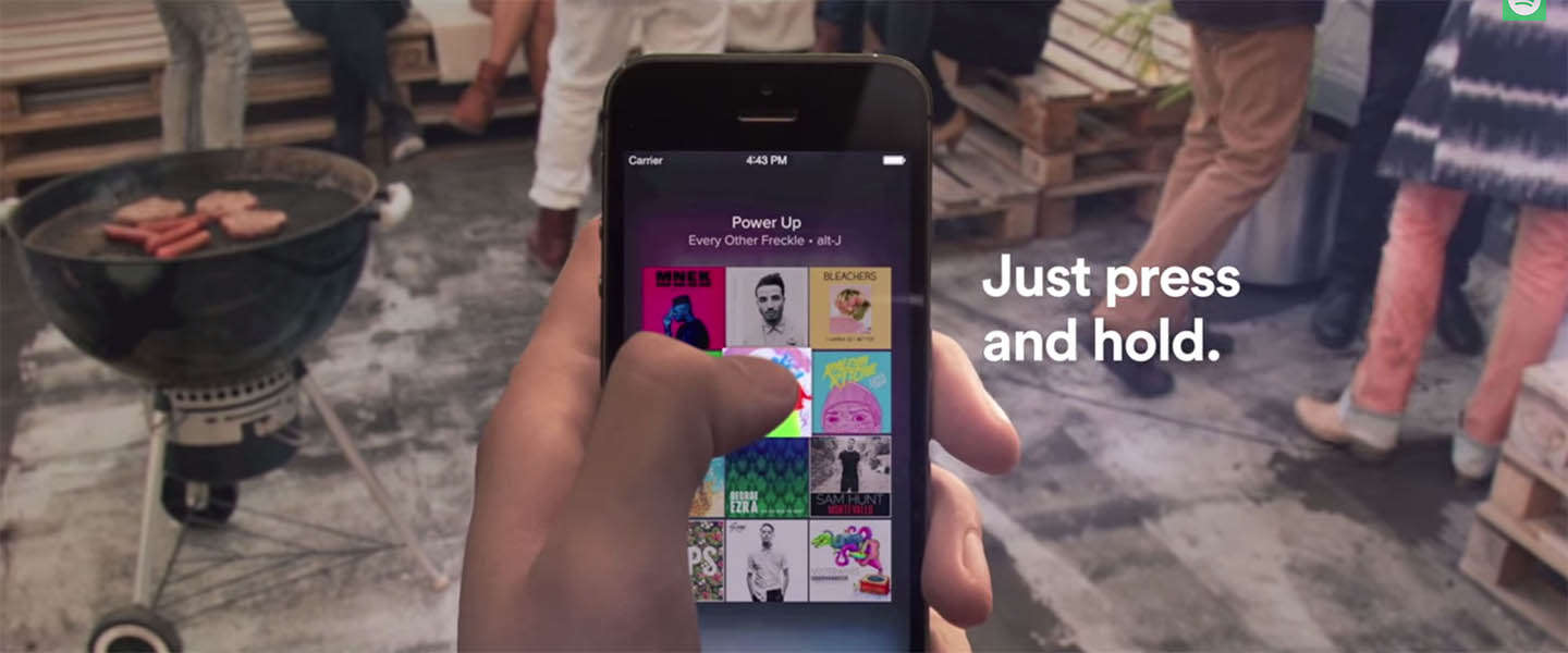 Spotify rolt 'Touch Preview' uit