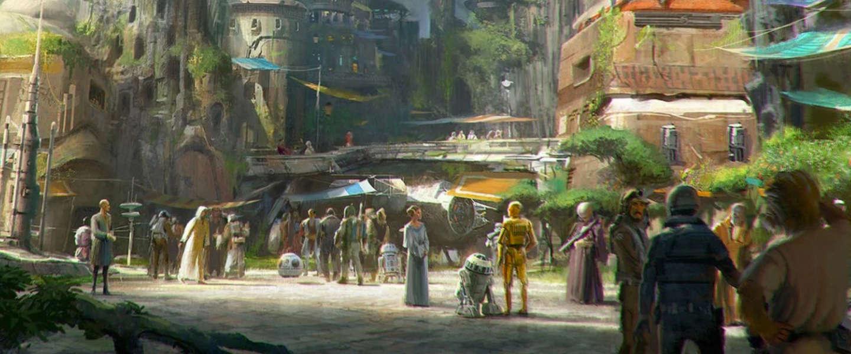Disney gaat een Star Wars-themapark openen in 2019