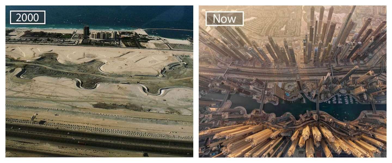Foto's tonen aan hoeveel deze 11 wereldsteden veranderd zijn