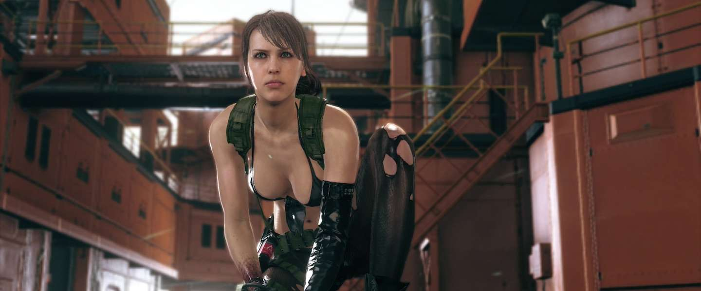 Nederlands video game model Stefanie Joosten op Dutch Comic Con