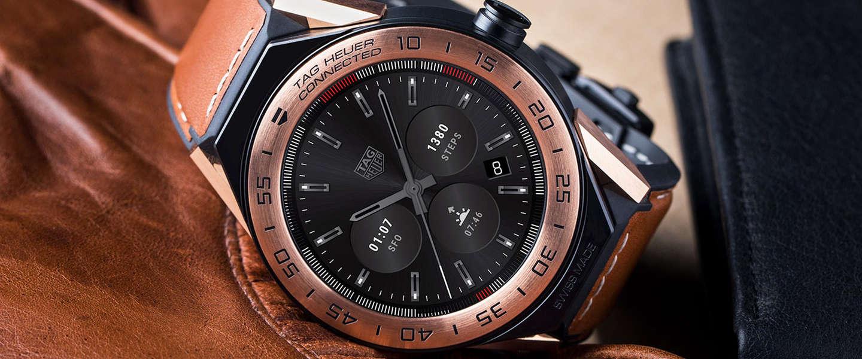 TAG Heuer's Modular 45 smartwatch is helemaal aan te passen