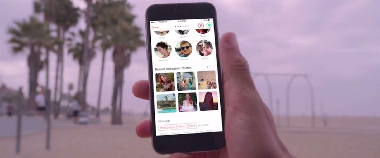 Tinder maakt nu koppeling met Instagram mogelijk