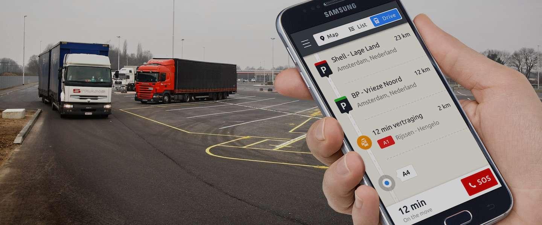 Trucker app voor vrachtwagenchauffeurs gelanceerd