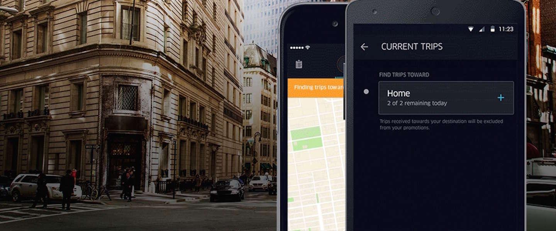 Uber geeft zijn Driver-app een flinke update
