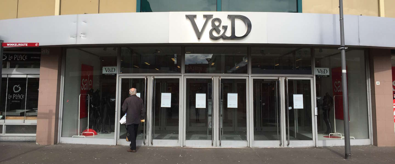 V&D maakt alsnog doorstart