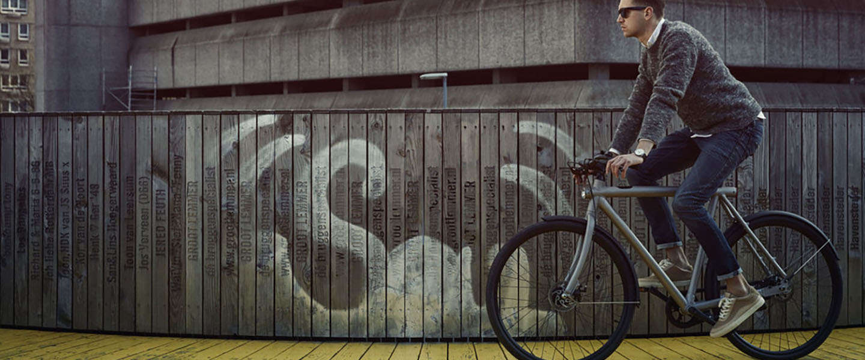 De VanMoof SmartBike moet fietsdiefstal tegengaan