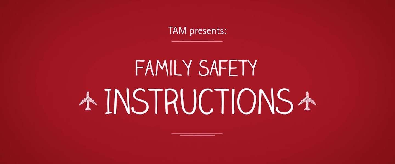 Wanneer familieleden van passagiers de veiligheidsinstructies doen
