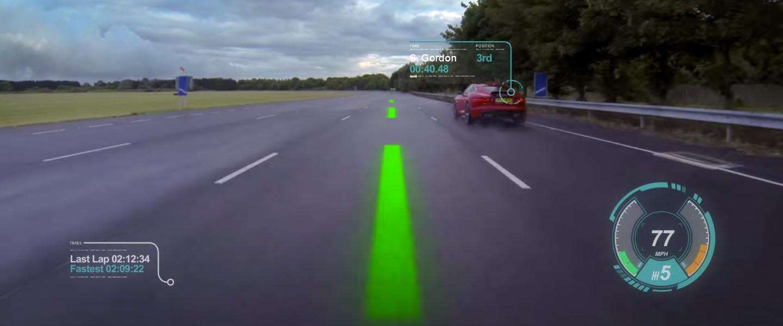 Jaguar komt met nieuw Augmented Reality concept