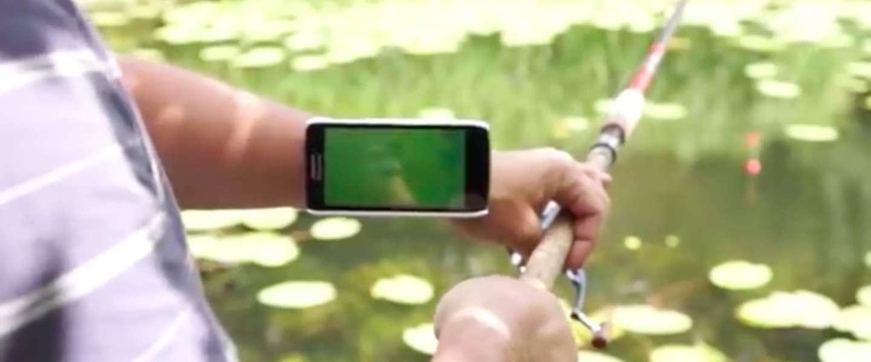 Deze vishengel laat jou zien wanneer je beet hebt!
