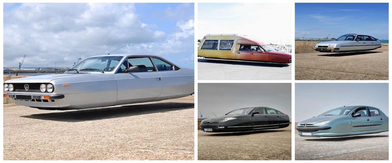 Vliegende auto's vastgelegd in Frankrijk!