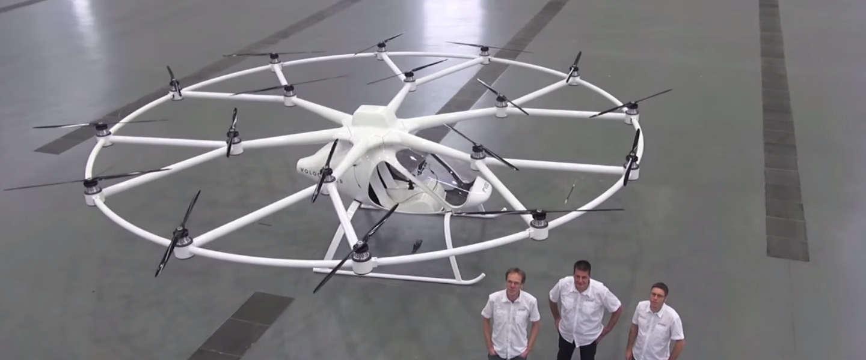 Eerste vlucht Volocopter VC200