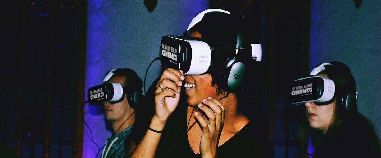 's Werelds eerste vaste Virtual Reality-bioscoop komt in Amsterdam