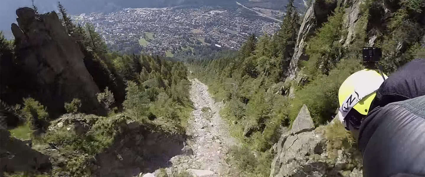 Must see: Wingsuit video Le Brévent