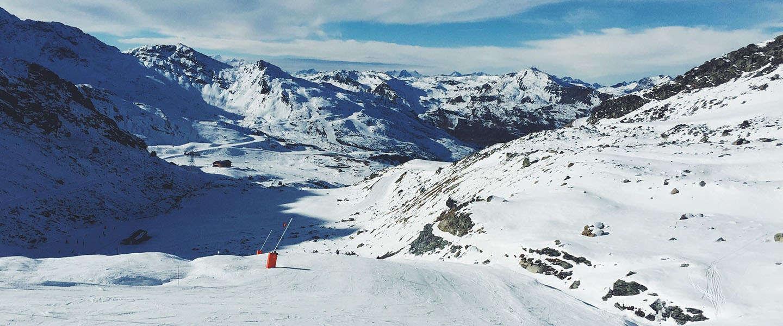 Online zoektrends naar wintersport vakanties