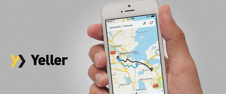 Nieuwe app Yeller laat je taxi delen