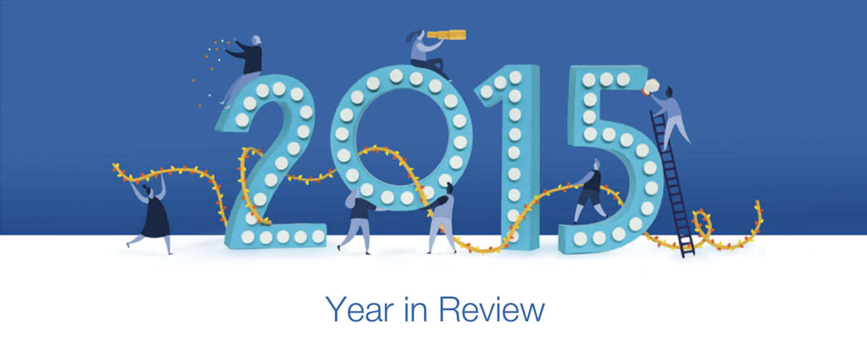 Terugkijken op 2015 met je eigen jaaroverzicht op Facebook