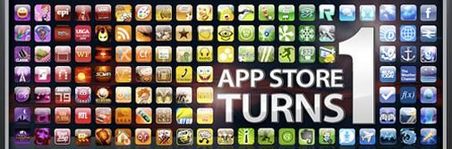 1 jaar Apple App Store
