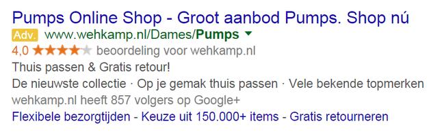 1. Pumps wehkamp Seller ratings