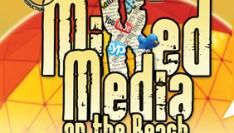 3 juli Mixed Media on the Beach