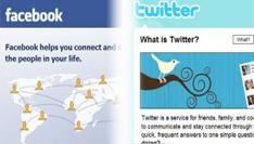42,3% van de Amerikanen gebruikt Facebook en 8,7% gebruikt Twitter in 2011
