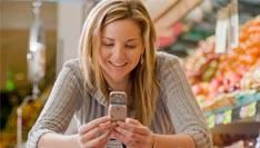 50% van de Amerikanen raadpleegt gsm tijdens het winkelen