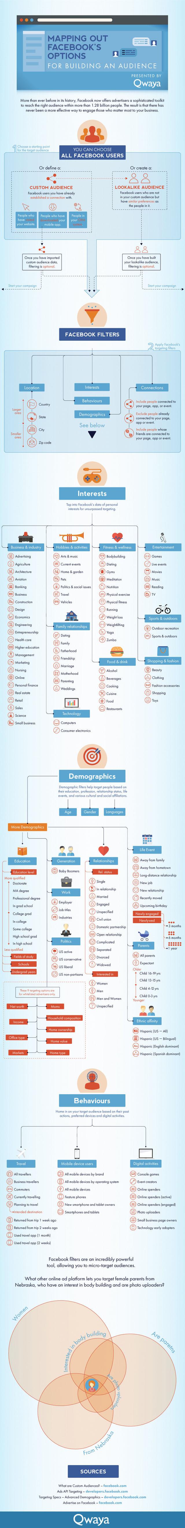 Qwaya Targeting Infographic