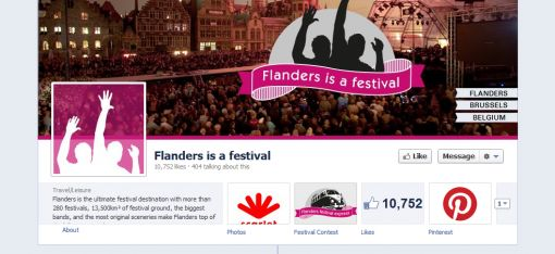 6  Flanders is a festival