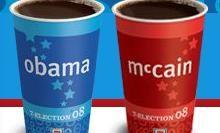 7-Eleven voorspelt Obama als winnaar