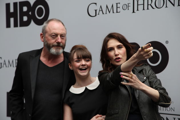 Acteurs openen 'Game Of Thrones' expositie in Amsterdam