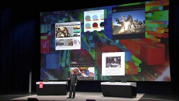 Adobe's create the web