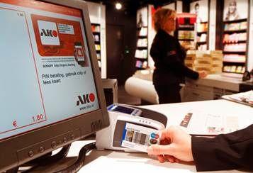 AKO op Schiphol heeft de primeur met contactloos betalen