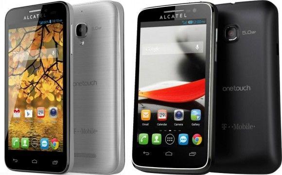 Alcatel duikt samen met T-mobile in de markt van de low-end smartphones