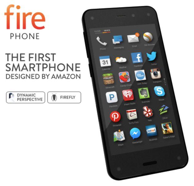 Amazon lanceert de Fire Phone