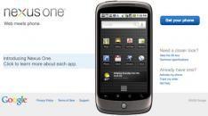 Amerikaanse prijzen Google Phone (aka Nexus One) uitgelekt