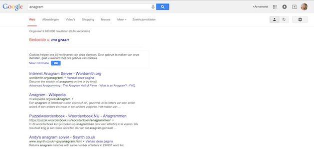 anagram google