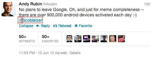 Andy Rubin: Per dag worden er 900.000 Android devices geactiveerd
